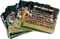 Football Collectibles:Photos, 1980's and 1990's Los Angeles Rams Team Issued Oversized Photographs Lot of 23....