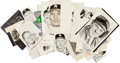 Baseball Collectibles:Others, Sporting News Archive Original Artwork Featuring 50+....