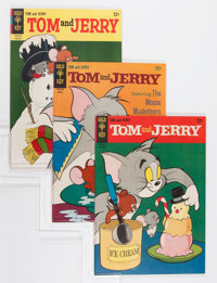 Tom and Jerry File Copy Group (Dell, 1965-80) Condition: Average VF+.... (Total: 67 Comic Books)
