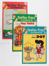 Tastee-Freez Comics #1-6 File Copy Group (Harvey, 1957) Condition: Average VF+.... (Total: 18 Comic Books)