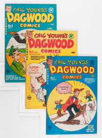 Dagwood File Copy Short Box Group (Harvey, 1951-64) Condition: Average VF