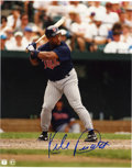 "Autographs:Photos, Kirby Puckett Signed 8x10"" Photograph. A color photograph adornedwith the signature of Hall of Fame member Kirby Puckett. ..."