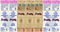 Baseball Collectibles:Tickets, 1991-92 Atlanta Braves Playoffs Tickets Group Lot of 7. A total ofseven postseason tickets are here from the 1991 and 1992...