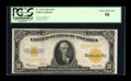 Large Size:Gold Certificates, Fr. 1173 $10 1922 Gold Certificate PCGS Choice About New 58....