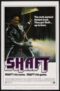 "Movie Posters:Blaxploitation, Shaft (MGM, 1971). One Sheet (27"" X 41""). Blaxploitation. ..."