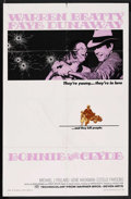 """Movie Posters:Crime, Bonnie and Clyde (Warner Brothers, 1967). One Sheet (27"""" X 41"""").Crime. ..."""