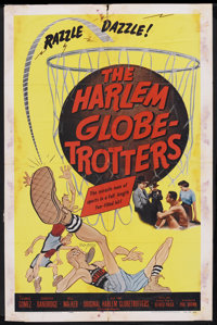 "The Harlem Globetrotters (Columbia, R-1957). One Sheet (27"" X 41""). Sports"
