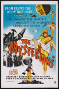 """Movie Posters:Science Fiction, The Mysterians (RKO, 1959). One Sheet (27"""" X 41""""). Science Fiction...."""