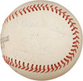 Autographs:Baseballs, 1960 Ty Cobb Single Signed Baseball....