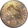 Patterns, 1880 $1 Goloid Metric Dollar, Judd-1652, Pollock-1852, R.6-7, PR63 Red and Brown PCGS....