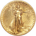 Proof High Relief Double Eagles, 1907 $20 High Relief PR61 NGC....
