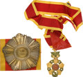 Military & Patriotic:Foreign Wars, Republic of Vietnam: National Order of Vietnam, Commander's neck insignia and the Grand Officer breast star. The star is...