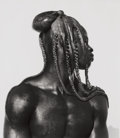 Photographs:20th Century, HERB RITTS (American, 1952-2002). Djimon with Octopus, 1989.Gelatin silver, 1989. 16-3/4 x 15 inches (42.4 x 38.1 cm). ...