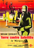 "Movie Posters:Science Fiction, Quatermass II: Enemy from Space (Verseau, 1957). French Grande (47""X 63"").. ..."