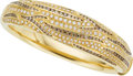 Estate Jewelry:Bracelets, Colored Diamond, Diamond, Gold Bracelet, Damiani. ...