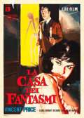 """Movie Posters:Horror, House on Haunted Hill (Allied Artists, 1959). Italian 2 - Foglio (39"""" X 55"""").. ..."""