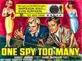 """Movie Posters:Action, One Spy Too Many (MGM, 1966). British Quad (30"""" X 40"""").. ..."""
