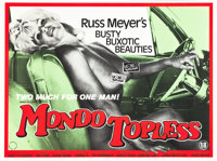 "Mondo Topless (Eve Productions, 1982). First British Release Quad (30"" X 40"")"