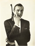 """Movie Posters:James Bond, Sean Connery in From Russia with Love (United Artists, 1964). Deluxe Portrait Photo (10"""" X 13"""").. ..."""