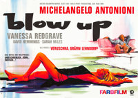 """Blow-Up (MGM, 1967). German A0 (33"""" X 46.75"""")"""
