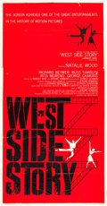 "Movie Posters:Academy Award Winners, West Side Story (United Artists, 1961). Three Sheet (40.25"" X79"").. ..."