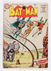 Batman #93 (DC, 1955) Condition: VG