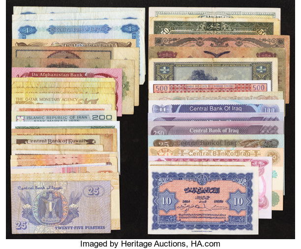 World Currency Wide Mixture Total 45