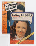 Golden Age (1938-1955):Romance, Calling All Girls #1 and 3 Group (Parents' Magazine Institute, 1941-42).... (Total: 2 Comic Books)