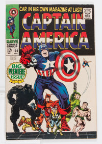 Captain America #100 (Marvel, 1968) Condition: FN/VF