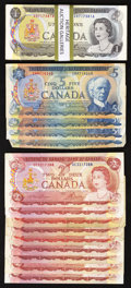 Canadian Currency: , That 1970's Canada.. ... (Total: 58 notes)
