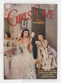 Girls' Love Stories #2 (DC, 1949) Condition: VG