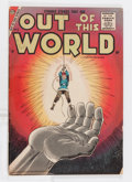 Silver Age (1956-1969):Science Fiction, Out of This World #3 (Charlton, 1957) Condition: FN-....