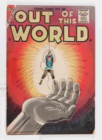 Out of This World #3 (Charlton, 1957) Condition: FN-