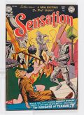 Golden Age (1938-1955):Superhero, Sensation Comics #106 (DC, 1951) Condition: VG/FN....