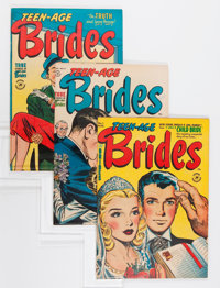 Teen-Age Brides and Others File Copies Group (Harvey, 1953-58) Condition: Average VF.... (Total: 24 Comic Books)