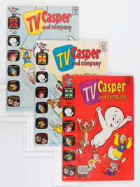 TV Casper and Company #2-46 File Copies Group (Harvey, 1963-74) Condition: Average NM-.... (Total: 45 Comic Books)