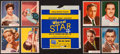 "Non-Sport Cards:Sets, 1953 Topps ""Who-Z-at Star"" Complete Set Plus Wrapper (80). ..."