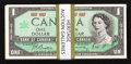 Canadian Currency: , Great White North $1's 1954 and 1967.. ... (Total: 53 notes)