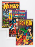 Bronze Age (1970-1979):Superhero, Marvel Bronze and Modern Age Comics Group (Marvel, 1968-93).... (Total: 22 Comic Books)