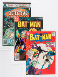 Silver Age (1956-1969):Superhero, Batman-Related Group (DC, 1962-94).... (Total: 9 Comic Books)