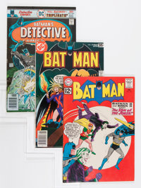 Batman-Related Group (DC, 1962-94).... (Total: 9 Comic Books)