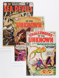 Challengers of the Unknown Group (DC, 1962-64).... (Total: 6 Comic Books)