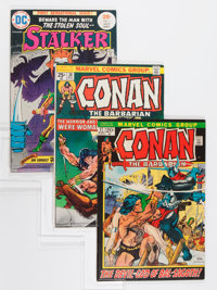 Comic Books - Assorted Bronze Age Fantasy Comics Group (Various, 1972-80).... (Total: 8 Comic Books)