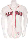 Baseball Collectibles:Uniforms, 1982 Wade Boggs Game Worn Boston Red Sox Rookie Jersey, MEARS A9....