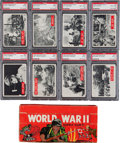 "Non-Sport Cards:Sets, 1965 Philadelphia Gum ""War Bulletin"" High Grade Complete Set (88)Plus Display Box and Wrapper. ..."