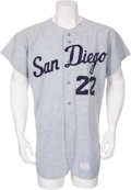 Baseball Collectibles:Uniforms, Mid-1960's St. Louis Padres Game Worn PCL Jersey....