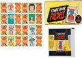 "Non-Sport Cards:Sets, 1966 Topps ""Comic Book Foldees"" Complete Set (44), Display Box andWrapper. ..."