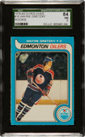 Hockey Cards:Singles (1970-Now), 1979 O-Pee-Chee Wayne Gretzky #18 SGC 84 NM 7....