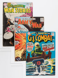 DC Silver/Bronze Age War Group (DC, 1959-72).... (Total: 6 Comic Books)