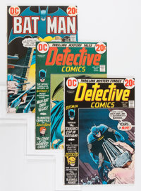Batman-Related Group (DC, 1972-73) Condition: Average VF-.... (Total: 14 Comic Books)